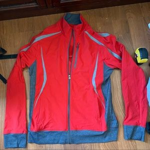 Lululemon athletics L red active sweater zip up
